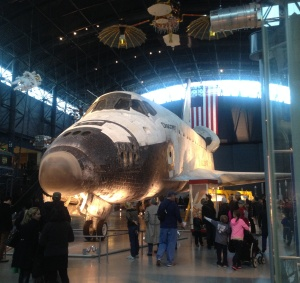 The Discovery, personal photograph from a recent trip to the Air and Space Museum