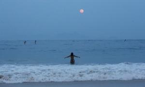 Copacabana beach, Rio de Janeiro, Brazil. Photograph: Mario Tama/Getty Images